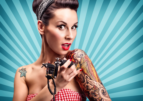 Tattoos as Fashion Accessories Picture
