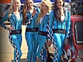 The costumes used in promotional staffing campaigns